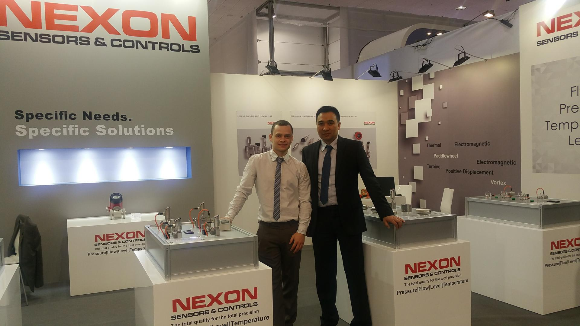 Nexon stand hannover mess 2017